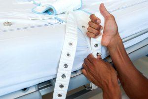 Patient restraint strap