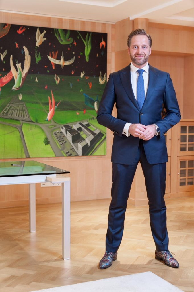 Minister Hugo de Jonge
