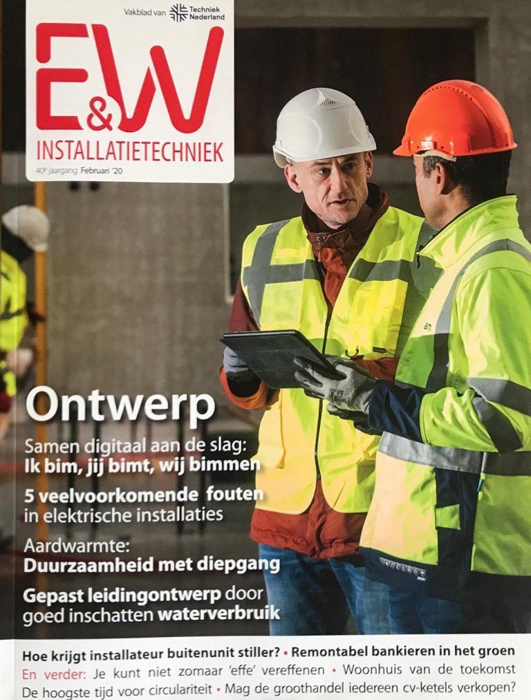 Cover E&W Installatietechniek Techniek Nederland